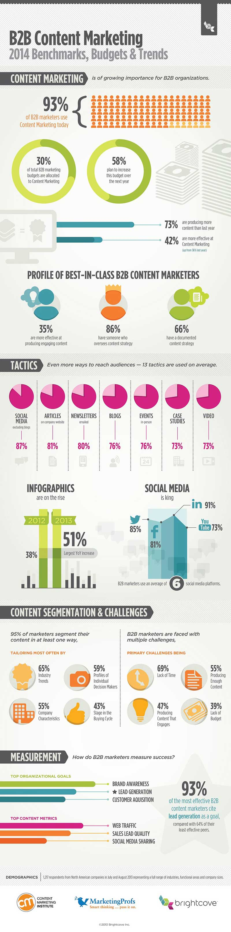 B2B Content Marketing 2013